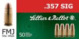 Sellier&Bellot .357Sig FMJ 140grn (50 stuks)_