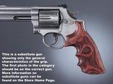 Hogue Rozen Laminaat Conversiegrip S&W K/L Frame Revolver_