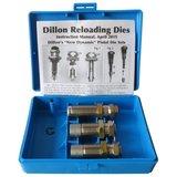 Dillon 3-Delige Carbide Matrijzen Set 9x19mm_