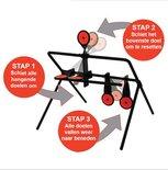 7-Plate Resetable Spinner Target