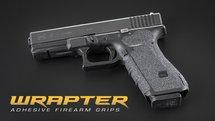 Glock Wrapter Rubber Plak Grip Glock 17 / 17L / 18 / 22 / 24 / 31 Gen1-2