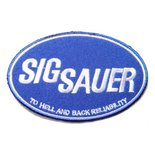 Patch Sig Sauer Ovaal