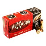 Geco 9mm Luger 124grn Hexagon (50 stuks)