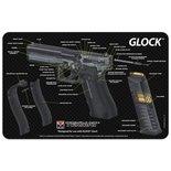 Onderleg Mat Glock - 3D