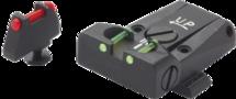 LPA Fiber-Optic Keep & Korrel Kit Glock 17 / 19 / 20 / 21 / 23 / 25 / 26 / 27 / 29 / 30 / 31 / 32