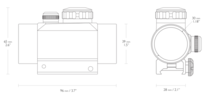Hawke Red Dot 1x30 5MOA Picatinny