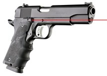 Hogue Rubber Grip met Laser Colt 1911