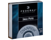 Federal Champion #100 Small Pistol Slaghoedjes