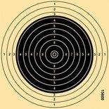 Schietschijf KK 10-Rings 16,5x16,5cm