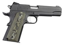Hogue Grip G10 Checkered Groen Colt 1911