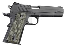Hogue Grip G10 Piranha Groen Colt 1911