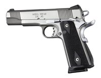 Hogue Magwellgrip + Mainspringhousing G10 Checkered Colt 1911