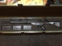 Heckler  Koch HK91  7,62x51mm incl. SKB koffer  *VERKOCHT*