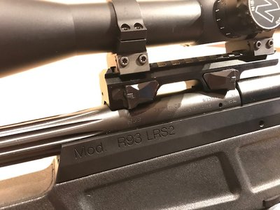 Blaser R93 LRS-2 / 6mm BR + Nightforce NXS 12-42x56mm