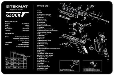 Onderleg Mat Glock
