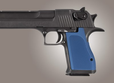Hogue Checkered Aluminium Grip Desert Eagle