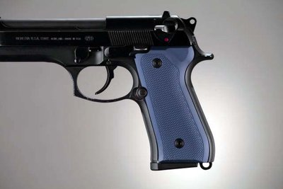 Hogue Checkered Aluminium Grip Beretta 92