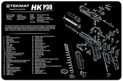 Onderleg Mat Heckler&Koch P30
