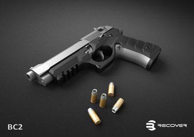 Re-Cover Grip & Rail Beretta 92 / 96 / M9