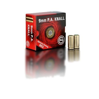 Geco 9mm P.A. Knall (25 stuks)