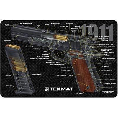 Onderleg Mat 1911 - 3D
