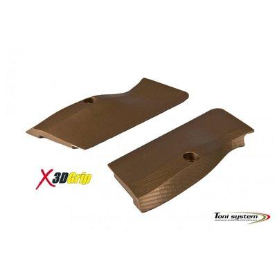Toni System Aluminium X3D Grips Tanfoglio