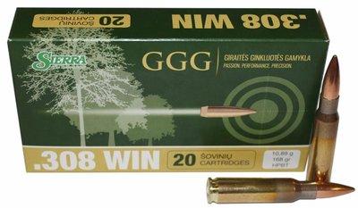 GGG Sierra Match King HPBT 175grn .308Win (20 stuks)
