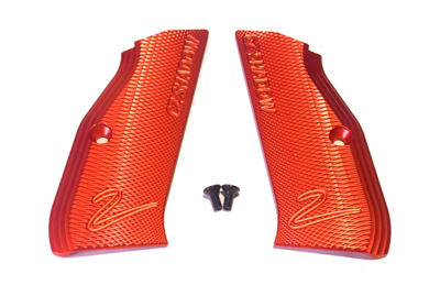 CZ Shadow 2 Lange Aluminium Grips