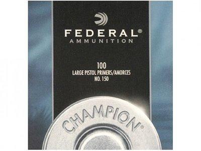 Federal Champion #150 Large Pistol Slaghoedjes