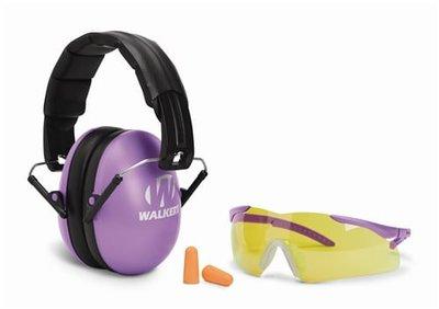 Walker's Combo Kit Gehoorbescherming + Bril