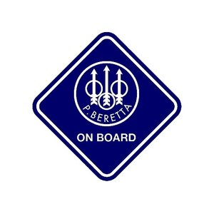 "Sticker ""Beretta on Board"""