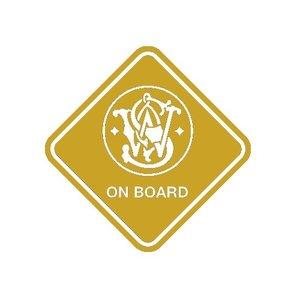 """Sticker """"S&W on Board"""""""