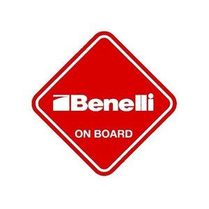 """Sticker """"Benelli on Board"""""""