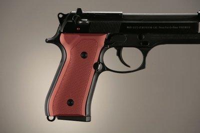Hogue Checkered Aluminium Grip Beretta 92