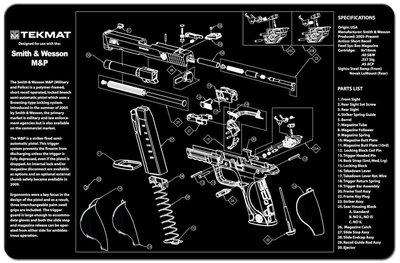 Onderleg Mat Smit & Wesson M&P