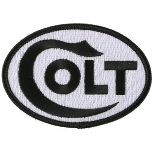 Patch Colt Ovaal