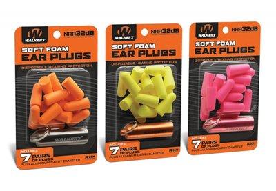 Walker's Foam Oorpluggen Set