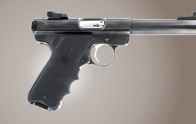 Hogue Rubber Grip Ruger MkII / MkIII