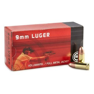 Geco 9mm Luger FMJ 124grn (50 stuks)