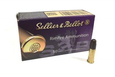 Sellier&Bellot .22LR HP High Velocity 38grs (50 stuks)