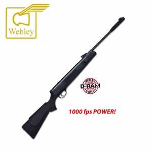 Webley VMX D-Ram Zwart 5,5mm