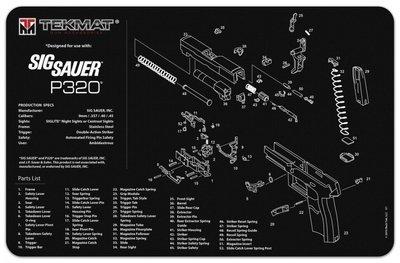 Onderleg Mat Sig Sauer P320