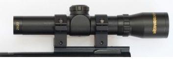 Weihrauch 2x20mm Pistool Richtkijker
