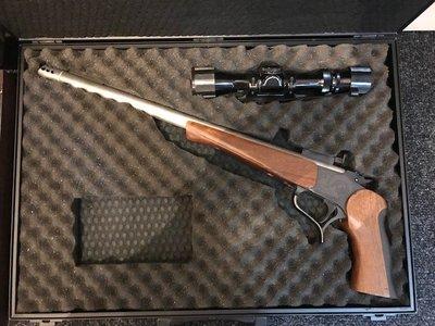 Thompson Contender + 3 lopen + rifleconversion  *GEBRUIKT*