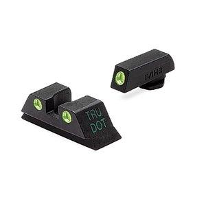 Meprolight Tru-Dot Vizier Set Glock 17 / 19 / 22 / 23 / 31 / 32 / 33 / 34 / 35 / 37 / 38